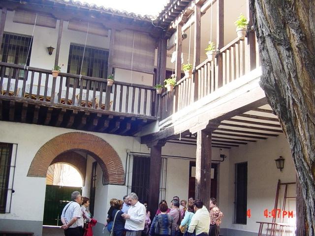 4-04-2006 Casa de Cervantes en Alcalá de Henares
