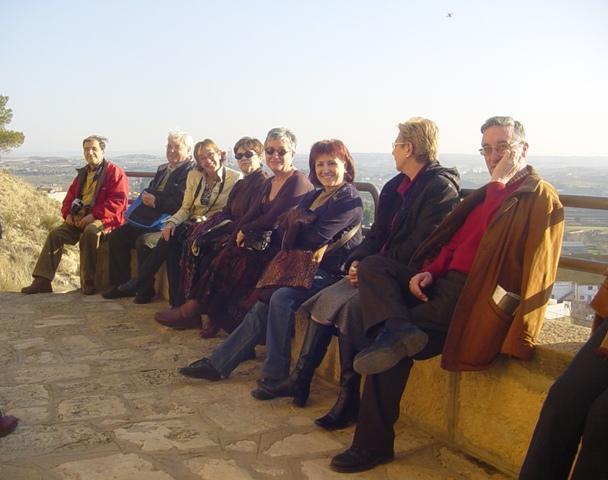 25-02-2008 al sol de Caspe que más caliente