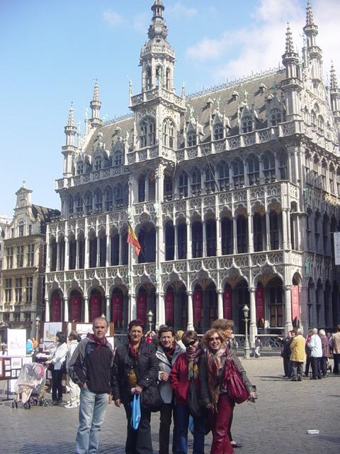 23-04-2009 en la Grand Place de Bruselas