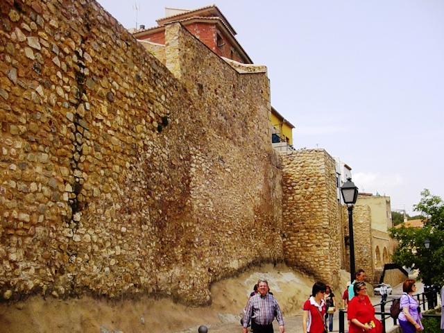 23-05-2009 en la muralla de Segorbe