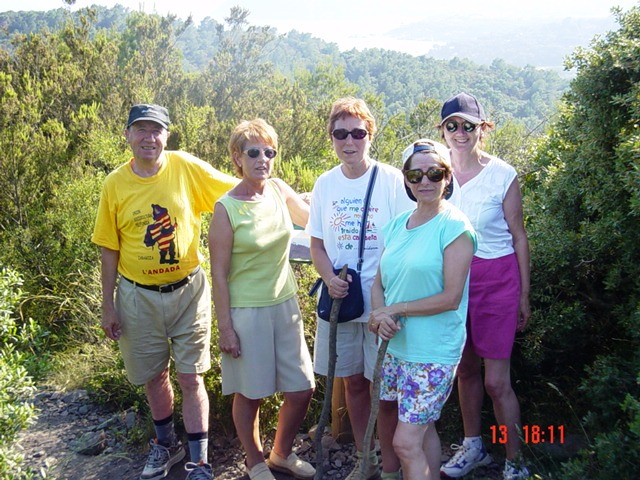 13-06-2003 En el mirador de Roques Dase