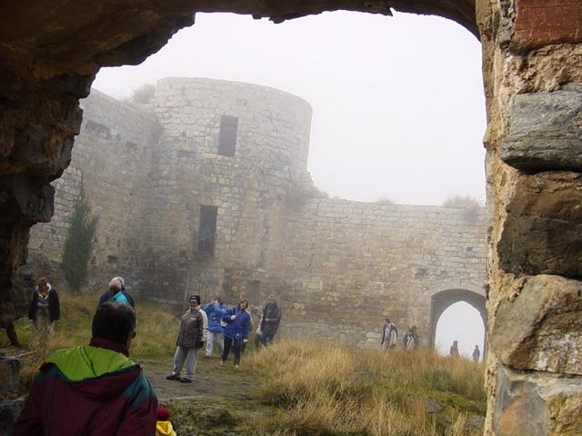 15-01-2005 en el Castillo de Cornago (Siglo XIII)