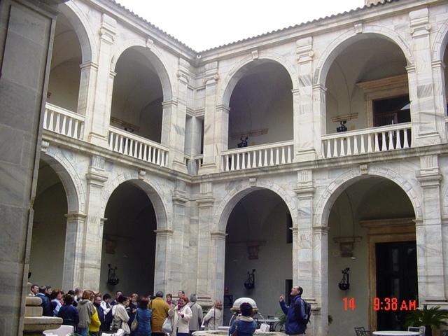 14-04-2005 en el Alcázar de los Duques de Feria (Zafra)