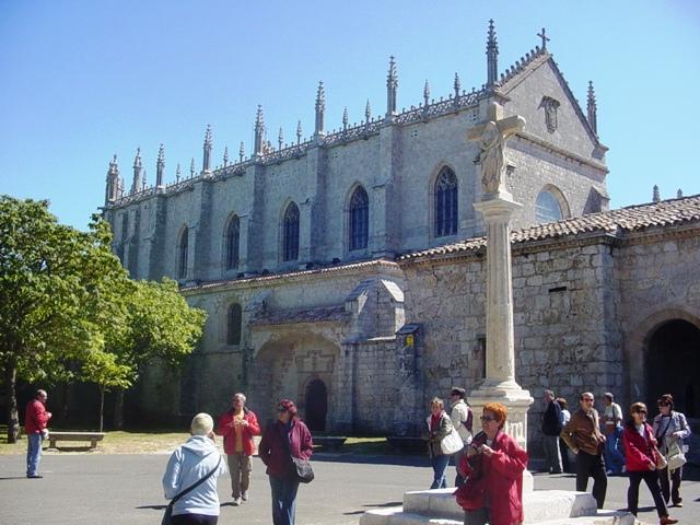 15-09-2008 entrando a La Cartuja de Miraflores (Burgos)