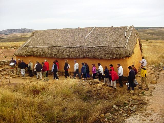 4-10-2008 en las ruinas de Numancia