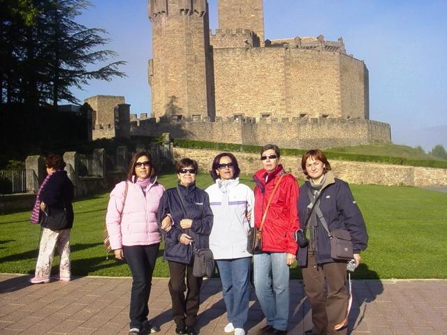 27-10-2008 en el Castillo de Javier