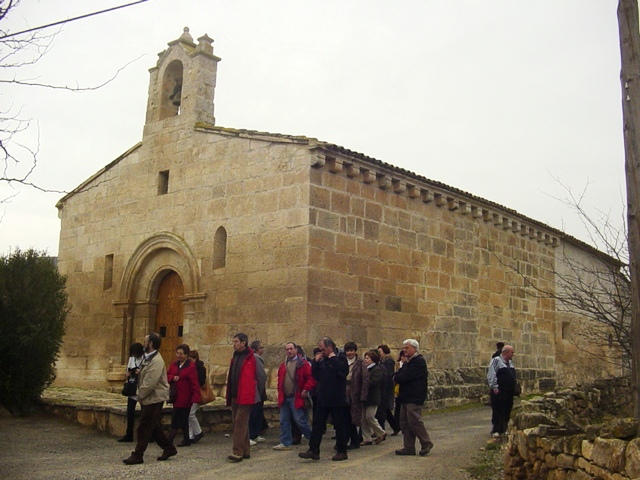31-01-2009 En la ermita de San Valero (Velilla de Cinca)