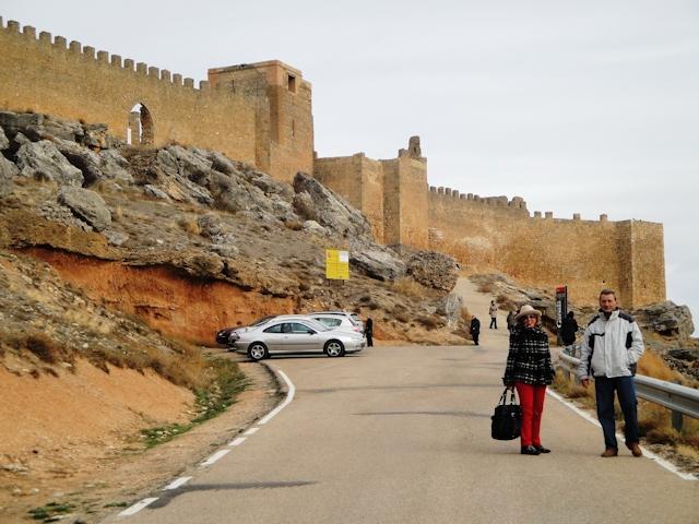 22-11-2009 subiendo al Castillo de Gormaz