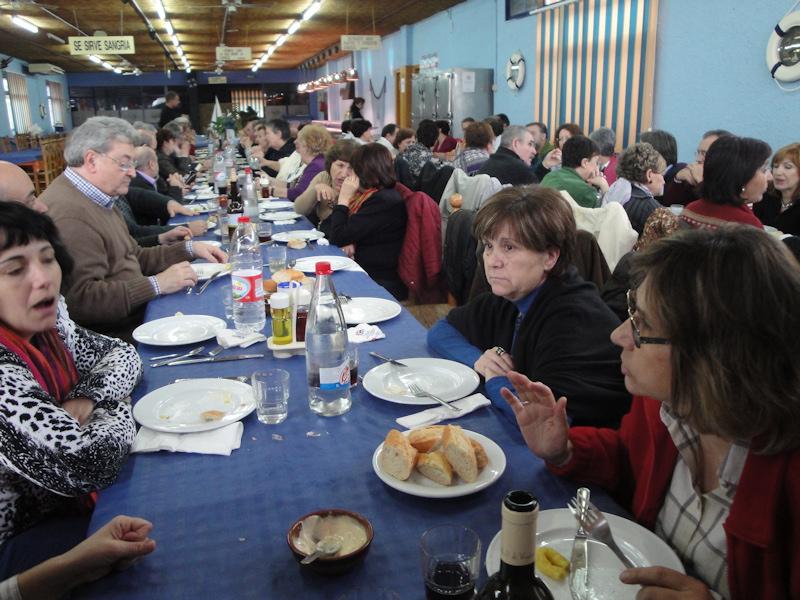 27-02-2010 Comiendo en el Delta del Ebro