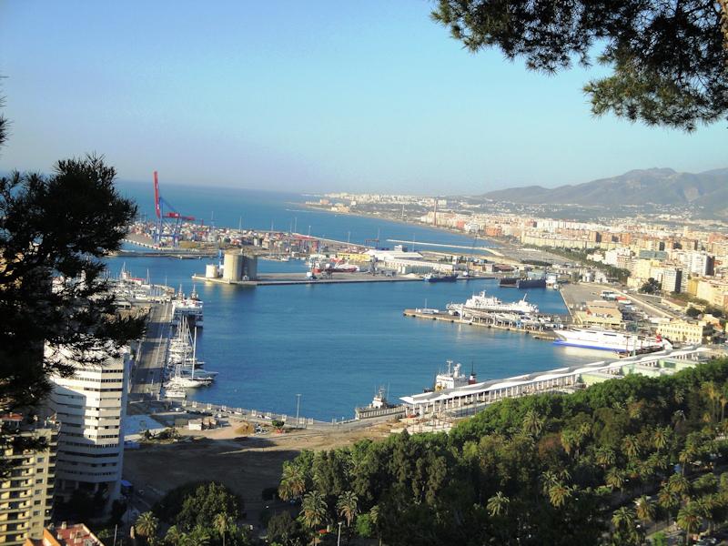 3-05-2010 Andalucía: El puerto de Málaga