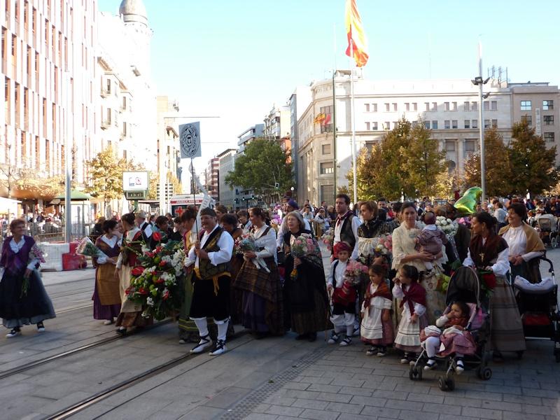 Ofrenda de flores 2012