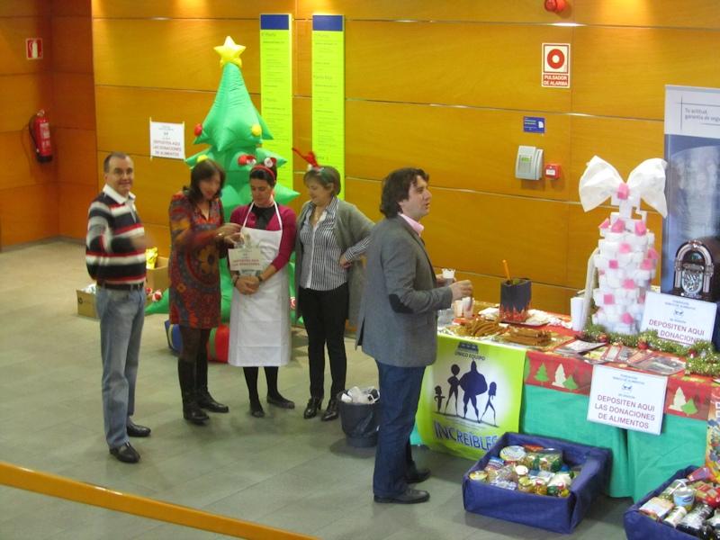 20-12-2012 recogida para el Banco de Alimentos
