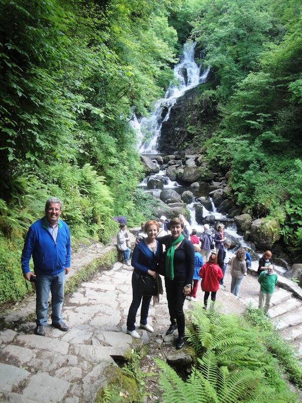 19-06-2013 en la cascada de Torc