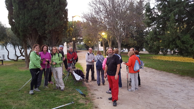 9-11-2015 Inicio temporada nordic walking