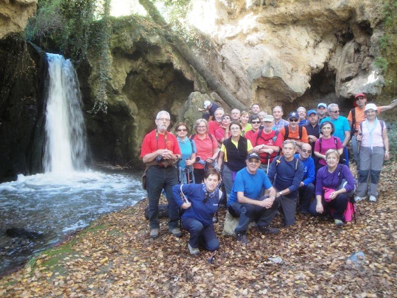 L'andada en la cascada del Pozo de Las Truchas