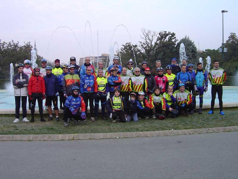 Jornada inicio temporada 2005 Pedalinos