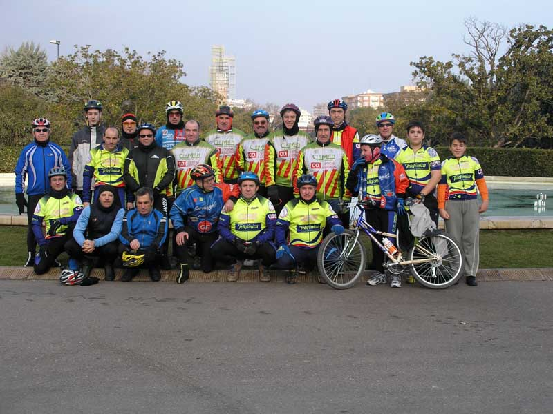2006 Jornada inicio temporada Pedalinos