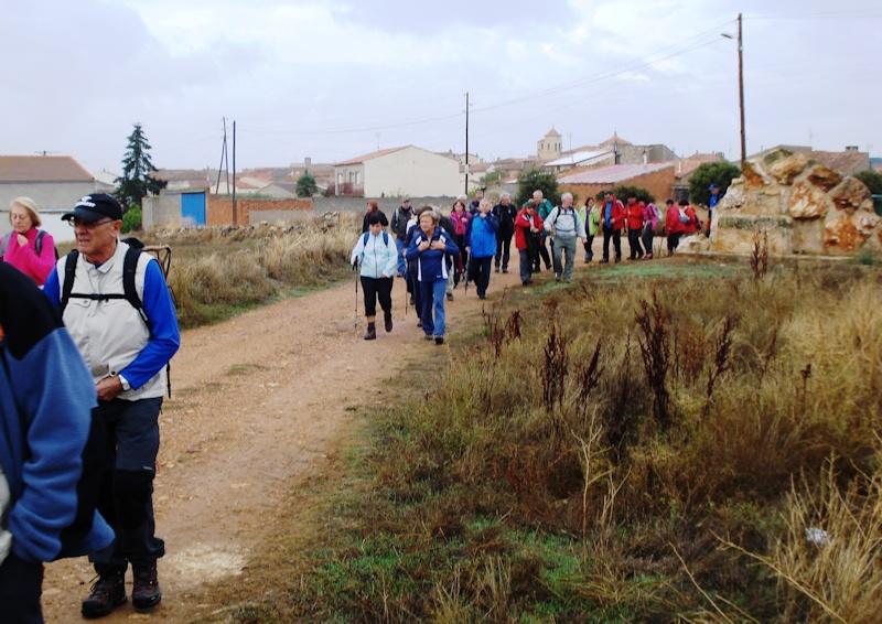 Comenzando a caminar por Torralba de Los Frailes
