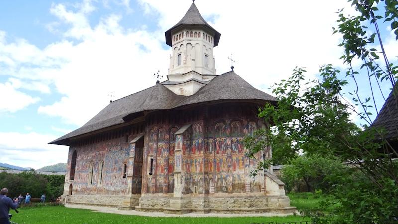 28-05-2017 La iglesia del Monasterio Moldovita