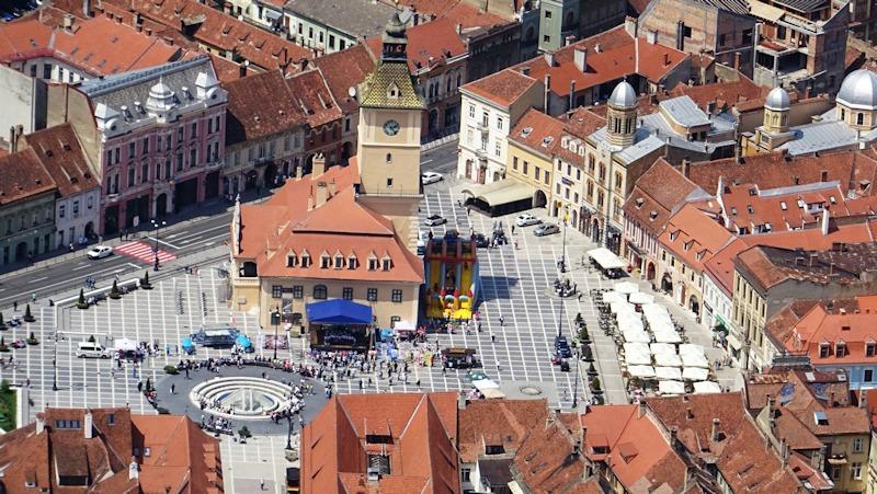 30-05-2017 La plaza Sfatului de Brasov