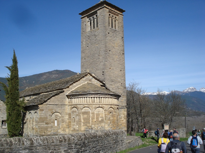 iglesia mozárabe de San Pedro en Lárrede