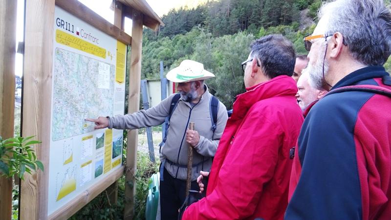 Norberto nos explica el recorrido