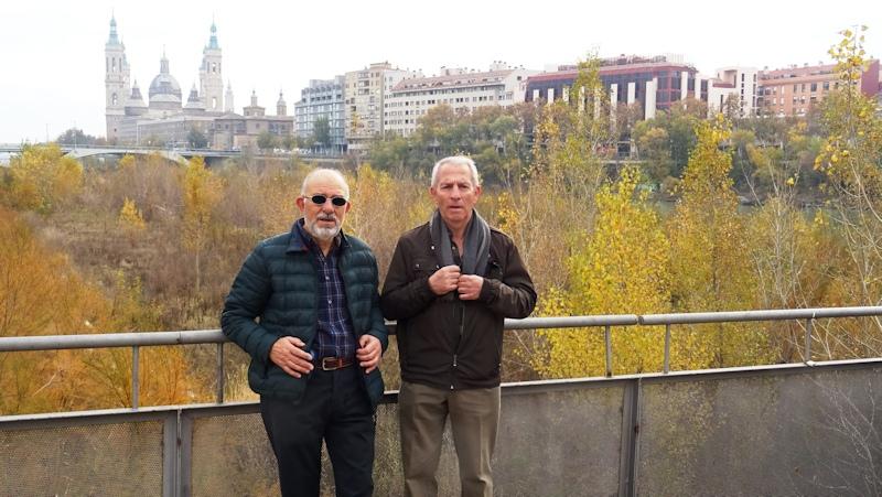 Otoño en el río Ebro