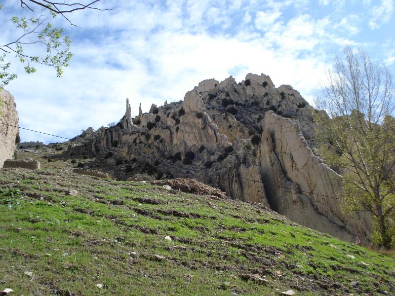 Farallones en la foz del Guadalope