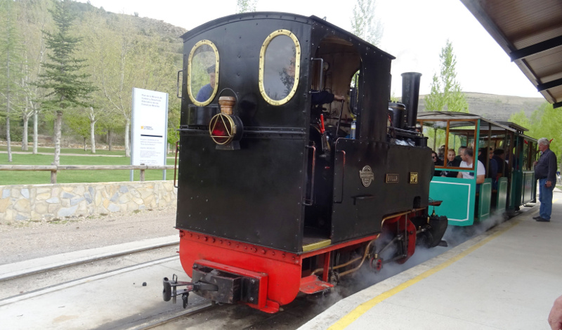 El tren minero