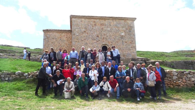En la ermita de San Baudelio