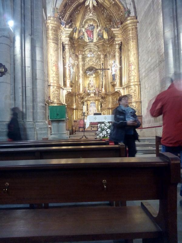 Retablo de la iglesia de santiago en Sangüesa